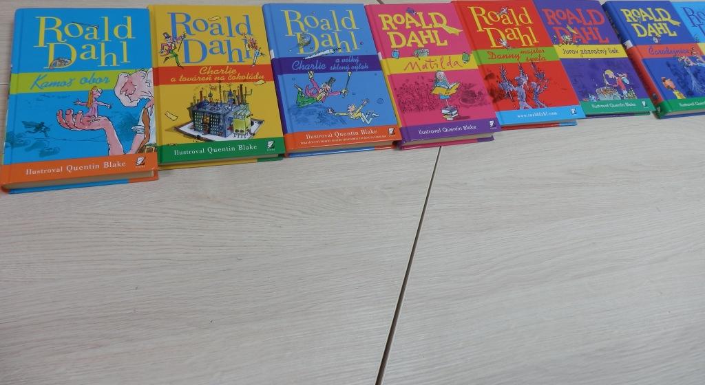 KNIŽNICA: 3. Roald Dahl